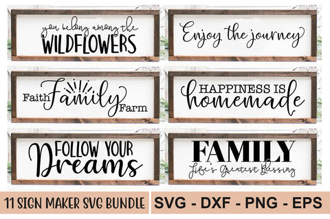 Sign Maker SVG Bundle - svgbundle.net