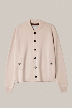The Wool Bomber - Cream