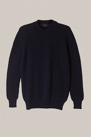 Maglione Perkins in lana - Blue Navy
