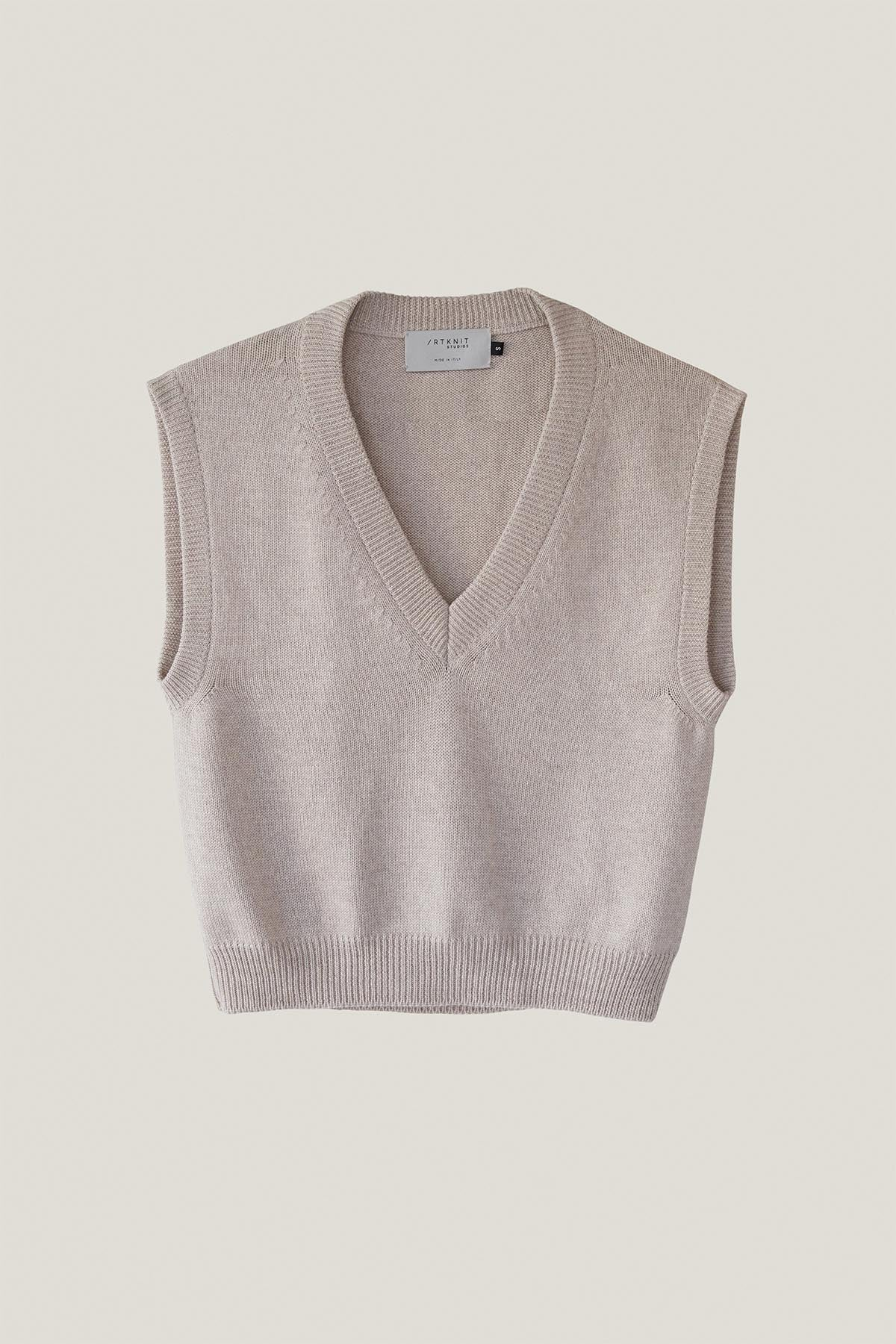 The Merino Wool Vest - Pearl