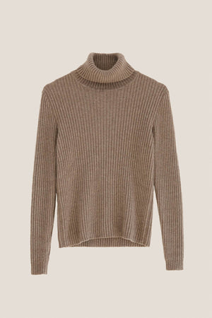 The Turtleneck Cashmere - Camel
