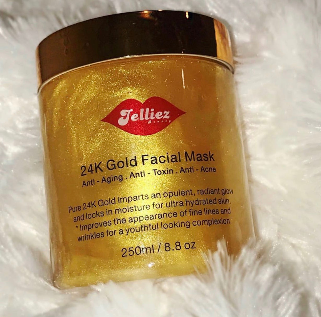 Real Gold Face Mask