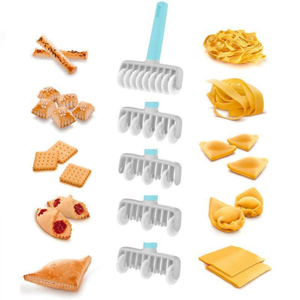 Multi-functional Pastry Rolling Cutter