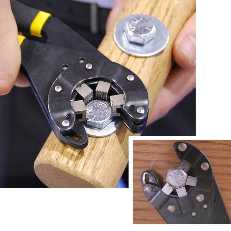 Multifunctional Logger Head Bionic Grip Wrench