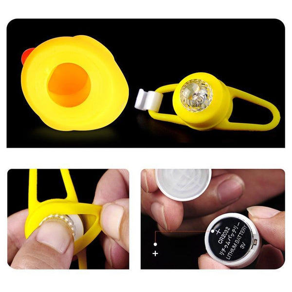 Bicycle Cute Horn with Light