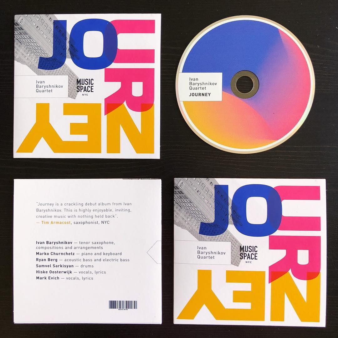 "Album ""Journey"" - Physical CD"