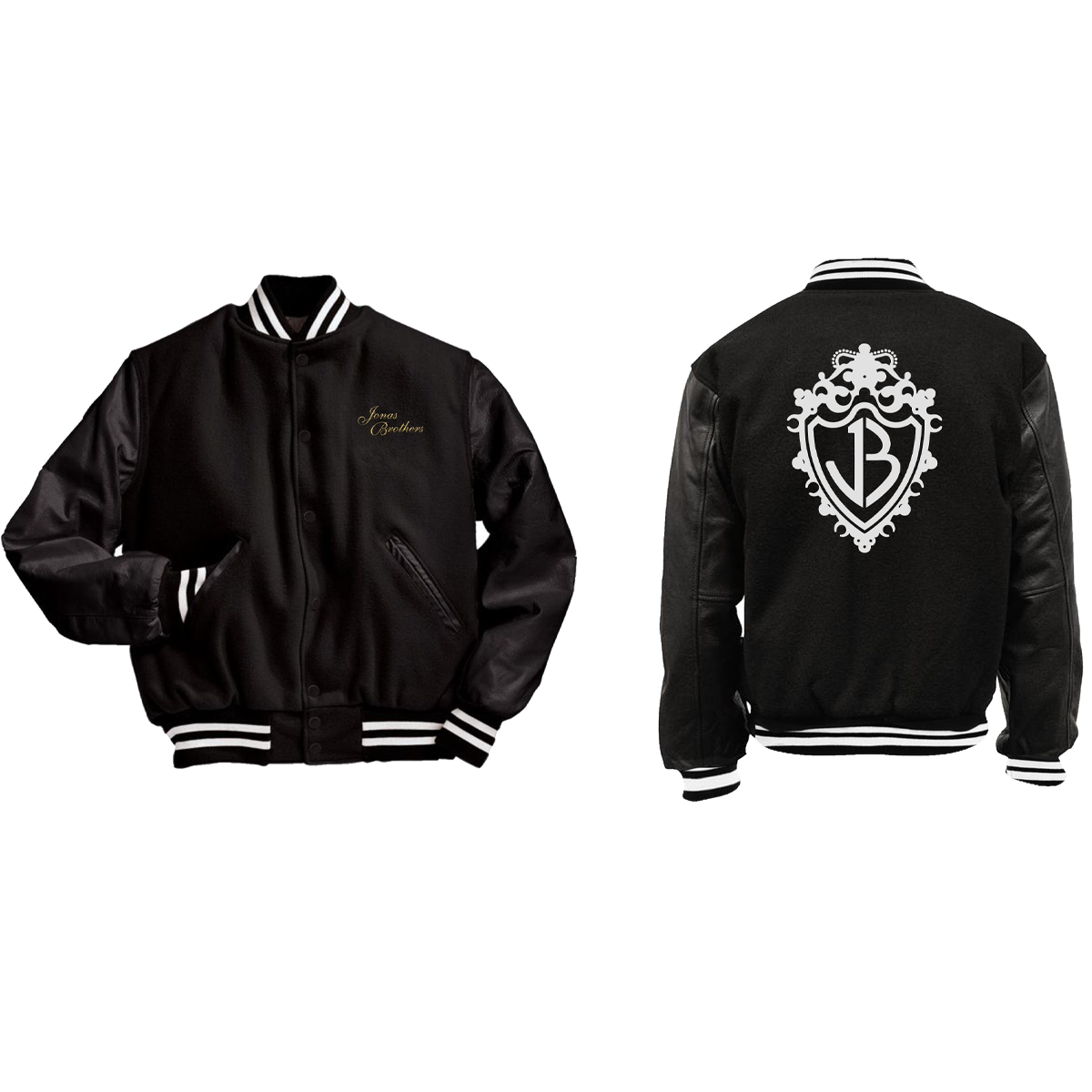 LIMITED EDITION CREST VARSITY JACKET-Jonas Brothers