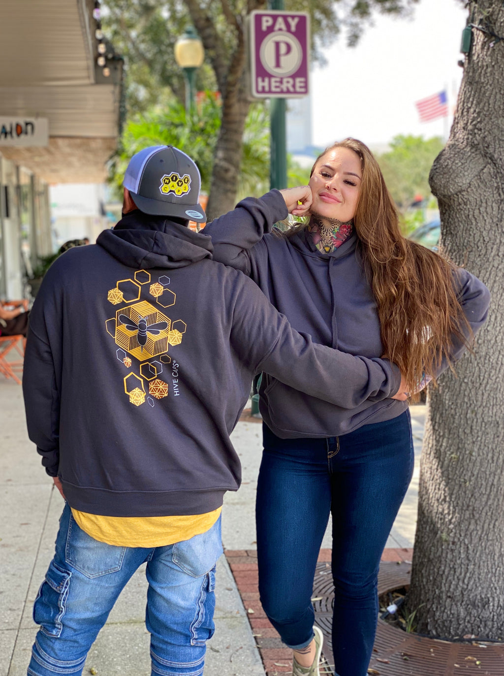 Limited Edition Hive Caps® Hoodies