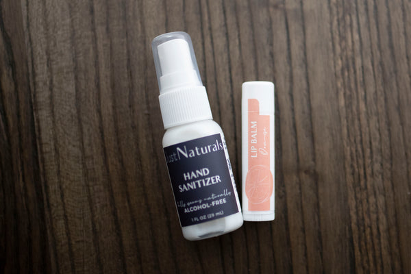 Lip Balm + Hand Sanitizer Duo
