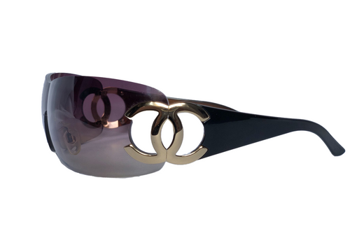 Chanel Sunglasses with Gold CC's