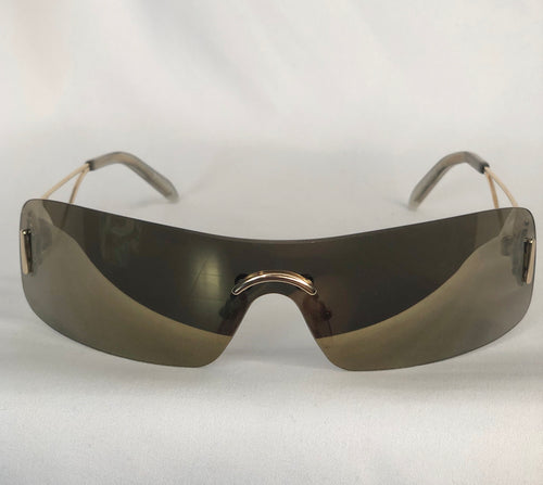 Christian Dior Brown Mirror Sunglasses