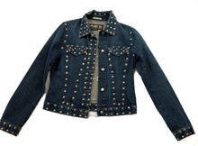 Load image into Gallery viewer, Jean Paul Gaultier Studs Denim Jacket