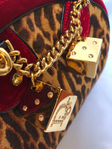 Christian Dior Bowler Bag with Dice Details