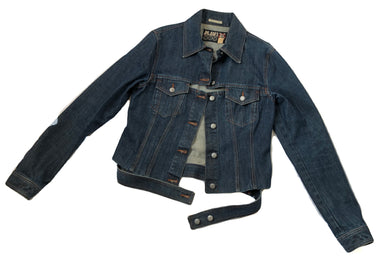 Jean Paul Gaultier Denim Jacket with cutouts