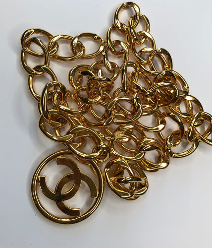 Chanel Gold Chain Belt FW 1991