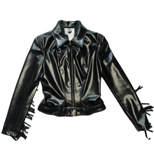 Load image into Gallery viewer, Thierry Mugler Vegan Leather Jacket