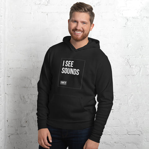 I See Sounds Unisex hoodie