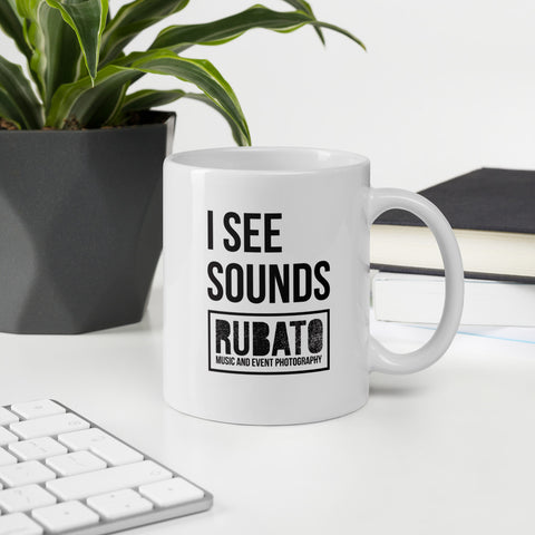 I See Sounds Glossy Mug