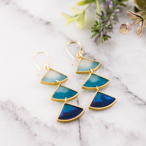Ocean Ombre Earrings