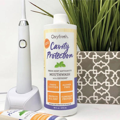 Cavity Protection Fluoride Mouthwash