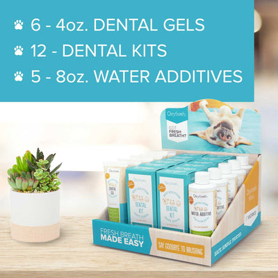 Pet Dental Point of Purchase Display