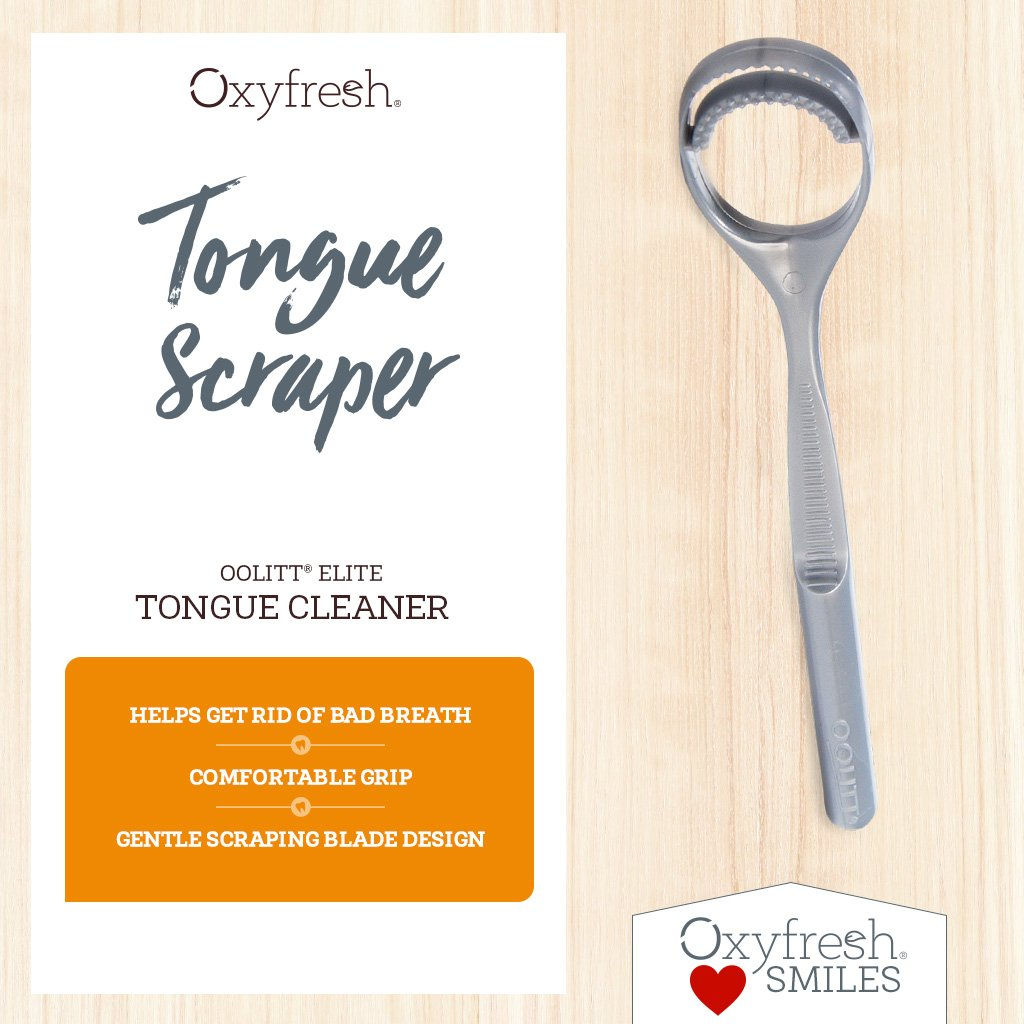 Oolitt® Elite Tongue Scraper
