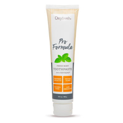 Oxyfresh Pro Formula Toothpaste is safe for porcelain veneers
