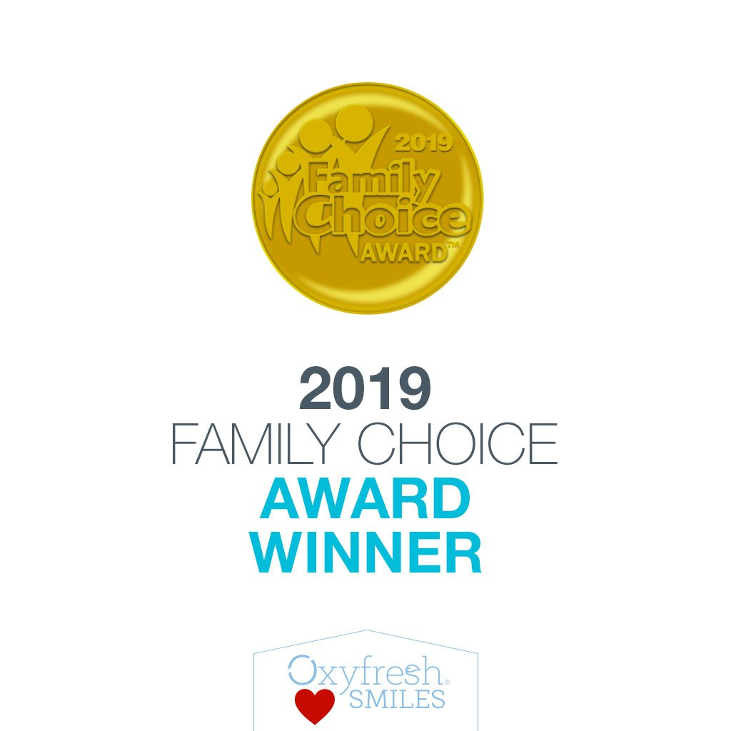 Oxyfresh gentle mouthwash is a Family Choice award winner in 2019