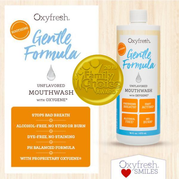 Sodium lauryl sulfate allergy sufferers can rely on Oxyfresh mouthwash for long lasting fresh breath