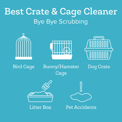 Pet Crate & Cage Cleaner