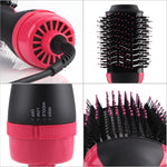 Hair Style Volumizer Rotating Hair Straightener 3 in 1 Multifunctional Roller Rotate Styler Comb Hot Air Styling Brush Hair Dry