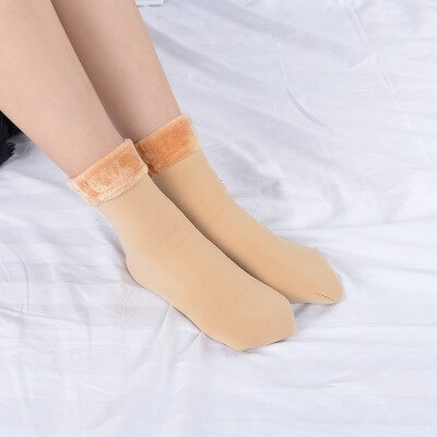 Cozy Faux Fur Socks