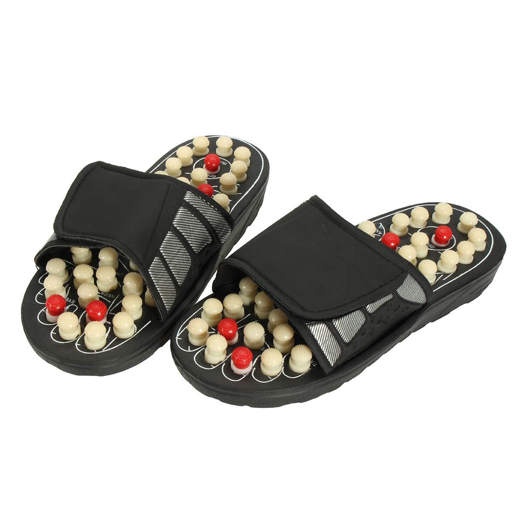 Unisex 1 Pair Medical Sandals Foot Massager Slipper For Men Women Reflexology Acupressure Foot Care Acupuncture Massage Shoes
