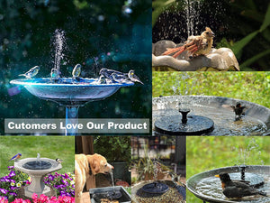 Latest Upgraded Solar Fountain Summer 2020