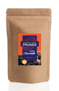 1kg Chocolate Coated Naturally Dried Prunes
