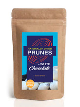 Load image into Gallery viewer, Naturally Dried Prunes + White Chocolate
