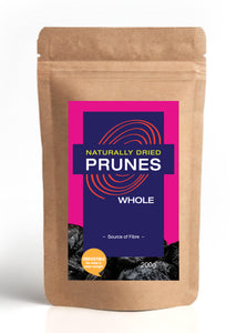Naturally Dried Whole Prunes