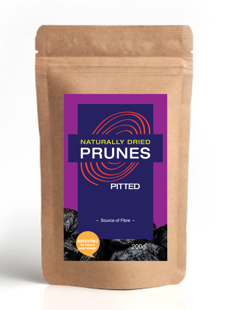 Naturally Dried Pitted Prunes