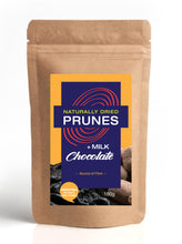 Load image into Gallery viewer, Naturally Dried Prunes + Milk Chocolate