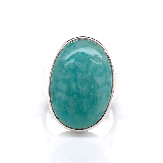 Amazonite Gemstone Ring