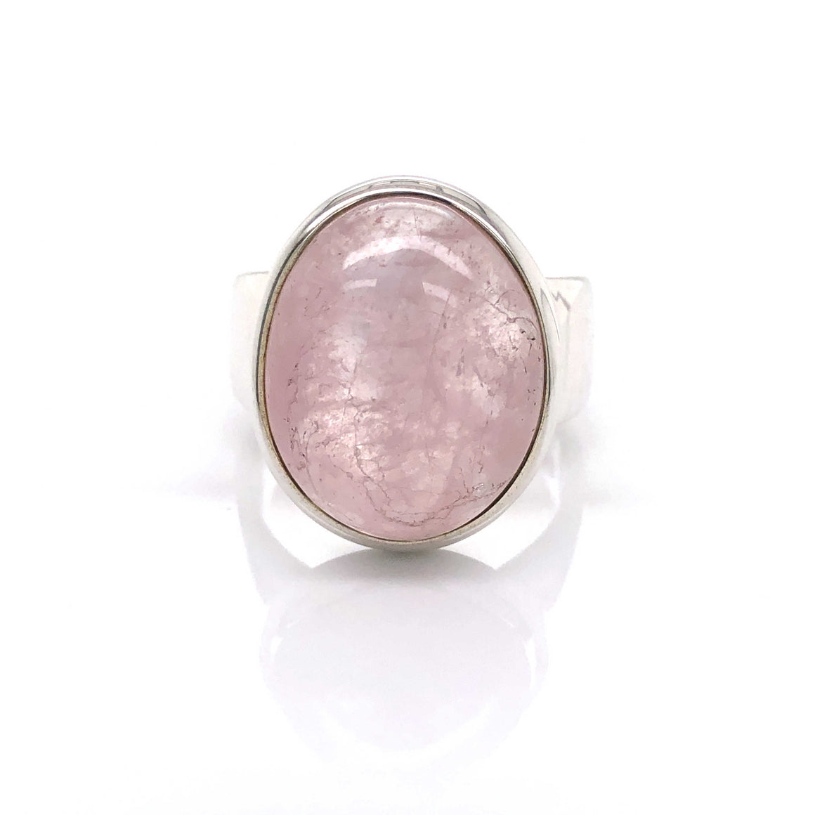 Rose Quartz Gemstone Ring