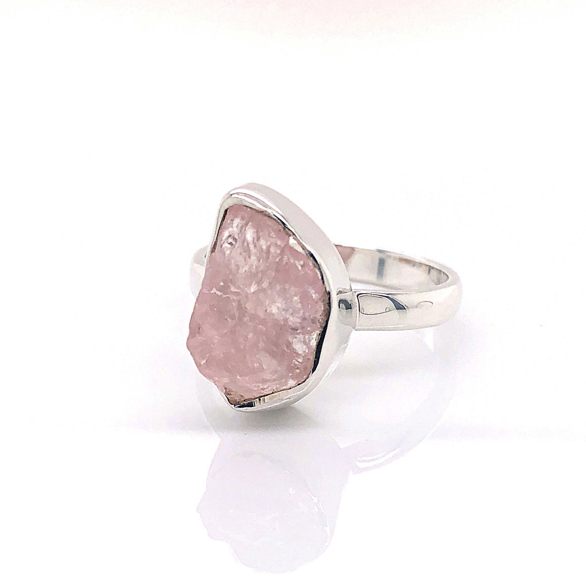 Morganite Gemstone Ring