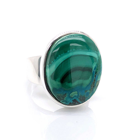 Malachite Gemstone Ring