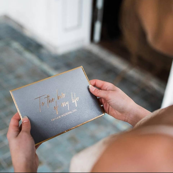 The Beauty Of Writing A Love Letter On Your Wedding Day