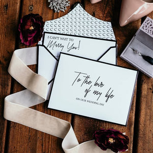 Stationery For Lovers® Wedding Day Love Letters (Wedding Pro Package)