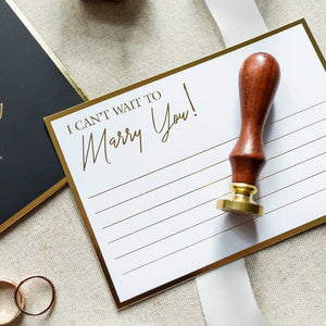 Stationery For Lovers® Wedding Day Love Letters