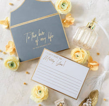 Load image into Gallery viewer, Stationery For Lovers® Wedding Day Love Letters