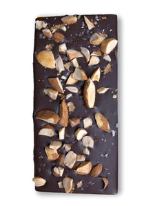 Mocha Crunch with Almonds Chocolate Bar