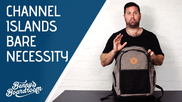 Channel Islands Bare Necessity Surf Backpack Review | Benny's Boardroom