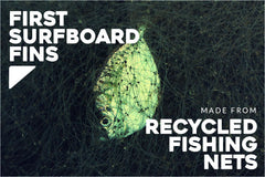 First Surfboard Fins Made from Bureo's NetPlus Recycled Fishing Nets